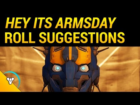 Destiny Rise of Iron: Armsday Suggestions (+Tower Vendor Refresh)