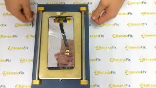 Ta'mirlash Huawei Mate 10 lite: almashtirish shisha (sensorli ekran) displey - disassembly - BananaFix