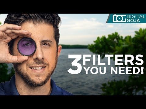 3 Camera Lens Filters You Need | 2019