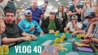Meeting Up w/ WinoPoker, Kristy Arnett & Friends @ the Commerce Casino | Poker VLOG 40