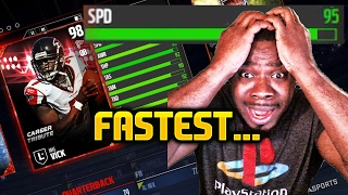 Fastest player draft champs this qb has 95 speed wtf madden 17 !!! madden nfl 17