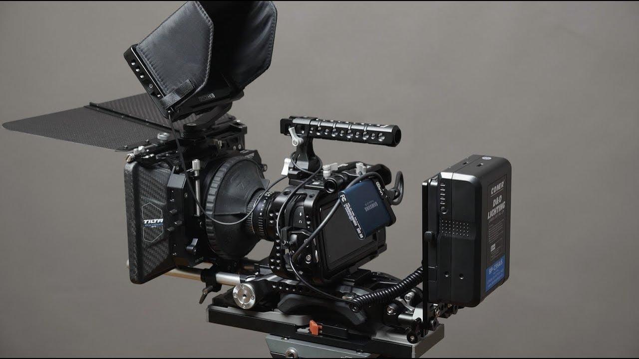 My Blackmagic Pocket Cinema Camera 4k Bmpcc4k Rig Tour Youtube