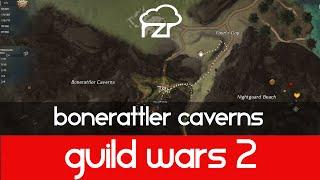 Guild Wars 2 Bonerattler Caverns Vista
