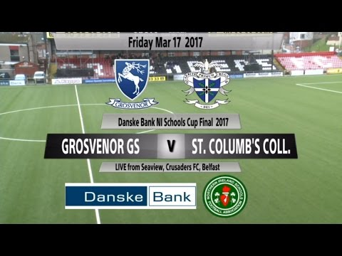 Danske Bank NI Schools Cup Final – Grosvenor Grammar v St Co