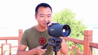 这是我见过倍数最高的望远镜,隔着长江看美女