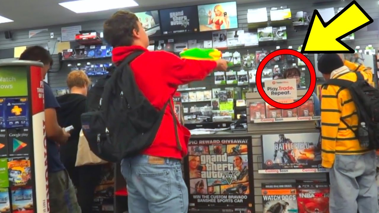 kid gets kicked out GameStop for PS4!! DONT DO THIS ...Gamestop