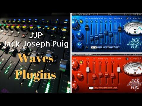 Waves Plugins - JJP Plugins da Waves(Jack Joseph Puig)