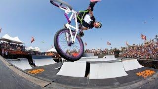 Невероятные трюки на велосипеде