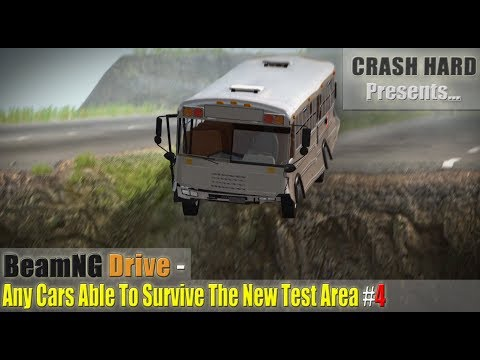 BeamNG Drive - Any Cars Able To Survive The New Test Area #4