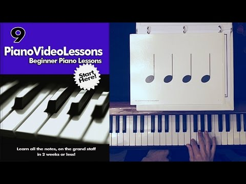 A-9  Basic Rhythm: Quarter, Half and Whole Notes Free Beginner Lesson 9