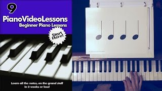 Beginner Lesson 9 : Basic Rhythm: Quarter, Half and Whole Notes
