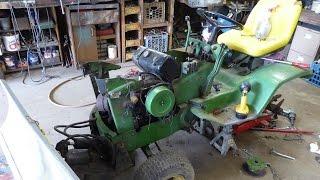 John Deere 140 progress and other repairs.
