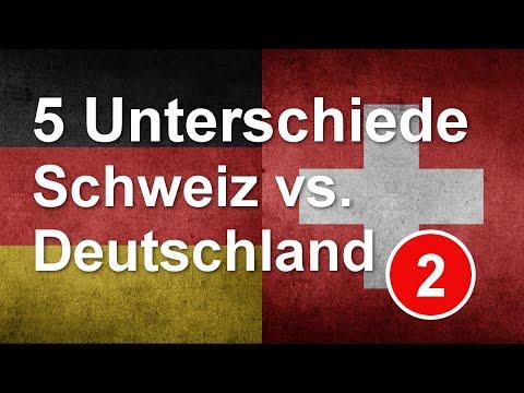 5 grosse und kleine Unterschiede zwischen Deutschland und der Schweiz - Folge 2