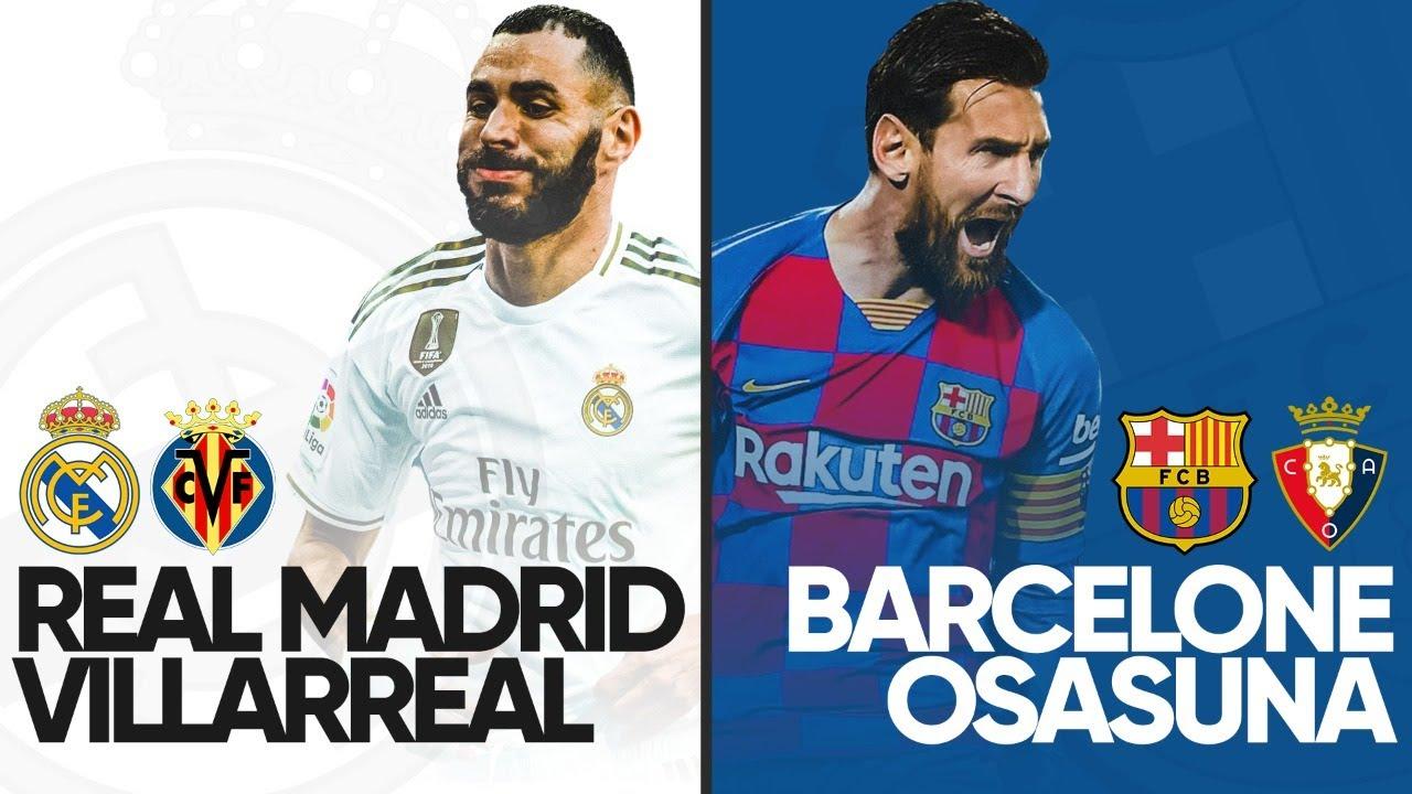 REAL MADRID VILLARREAL BARCELONE OSASUNA ClubHouse YouTube