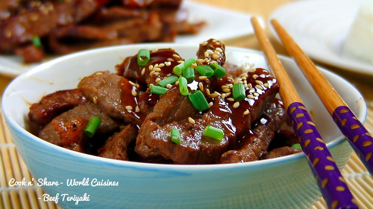 Beef Teriyaki - YouTube