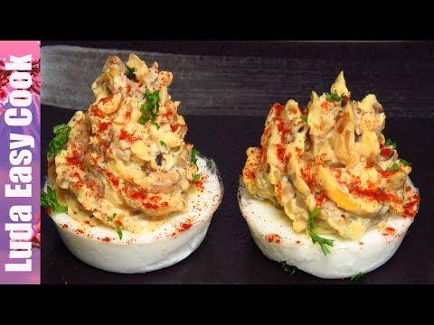 НОВАЯ ШИКАРНАЯ ЗАКУСКА ФАРШИРОВАННЫЕ ЯЙЦА на Праздничный Стол |  DEVILED EGGS New Year's recipe