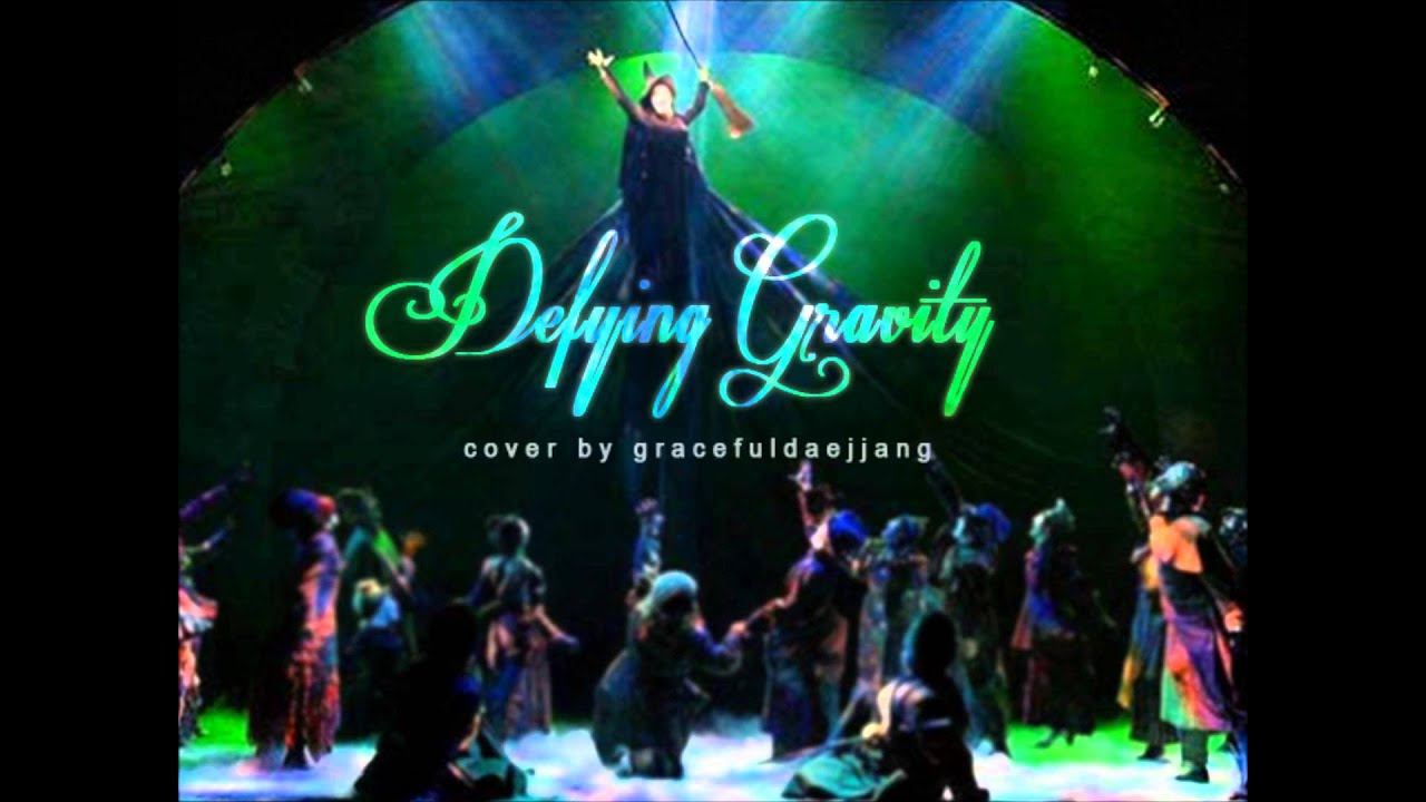 cover defying gravity from wicked youtube. Black Bedroom Furniture Sets. Home Design Ideas