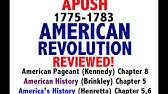 American Pageant Chapter 6 APUSH Review - YouTube