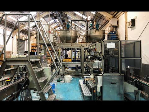 For Sale Candle Manufacturing Line And Mixing Vessels And Hot Filling Line