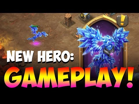 New Hero GAMEPLAY Phoenix INSANE Immune To Damage! Castle Clash