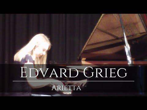 Lydia Maria Bader: Edvard Grieg, Arietta op.12/1 (Lyrische Stücke)