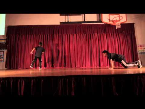 The Mini Monsterz B-Boys|Talent Show Fisher's Landing Elementary|May 31, 2013