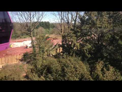 SW8 construction site Alton Towers Opening day 2017