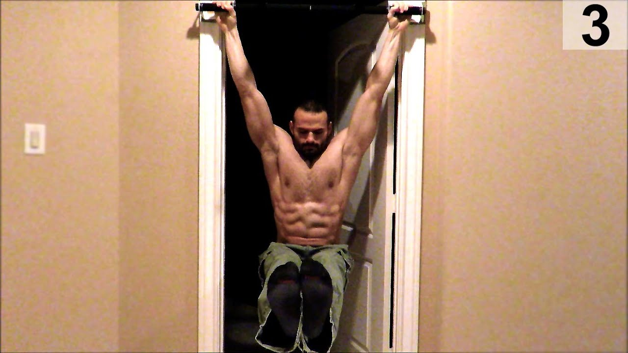 Core | Leg Raises - Door frame pull up bar & Core | Leg Raises - Door frame pull up bar - YouTube Pezcame.Com