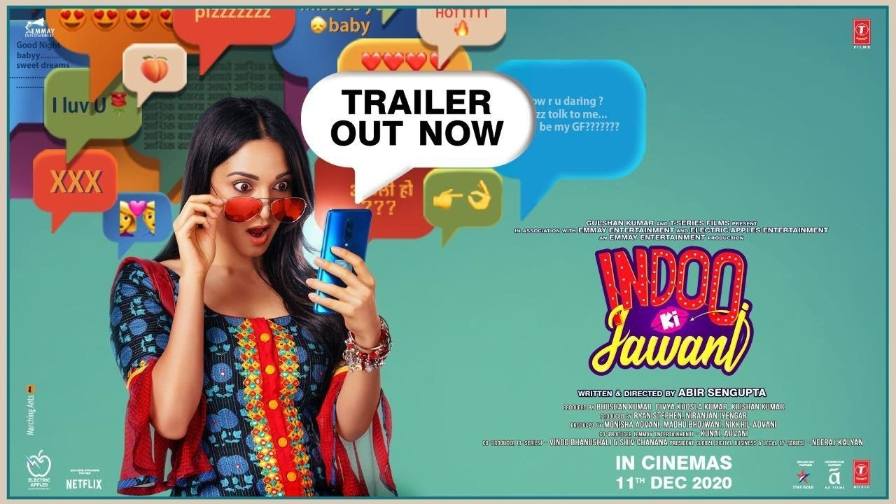 Indoo Ki Jawani Official Trailer | Kiara Advani, Aditya Seal, Mallika Dua, Abir Sengupta | 11 Dec - download from YouTube for free