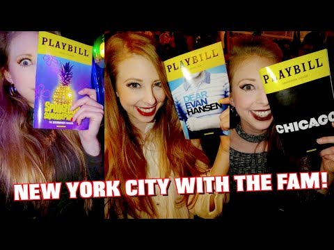 3 BROADWAY SHOWS IN ONE WEEK WITH THE FAM
