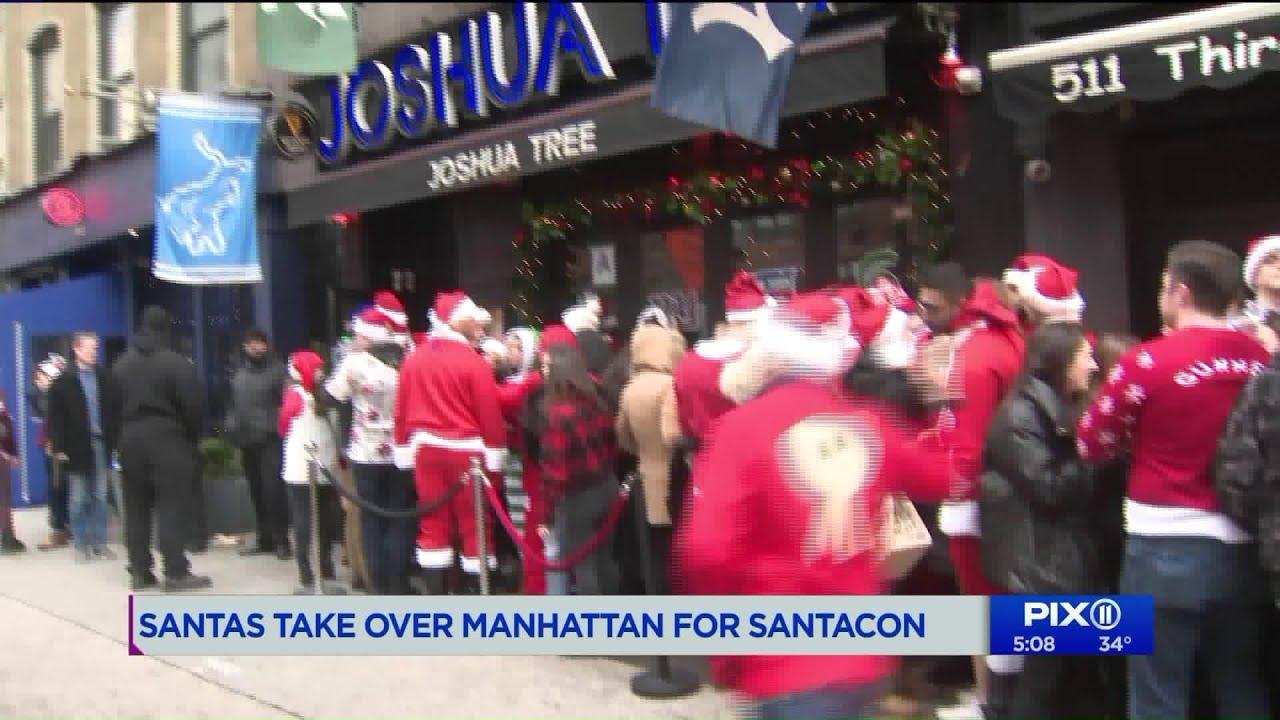 SantaCon 2018 kicks off in NYC