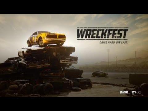 Wreckfest - Bloomfield Speedway Figure 8 - No Reset Challenge (10 lap survival)
