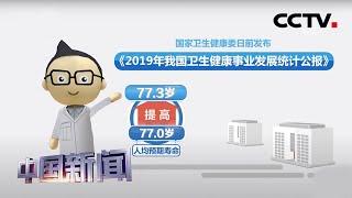 [中国新闻] 卫健委:中国人均预期寿命提升至77.3岁 | CCTV中文国际