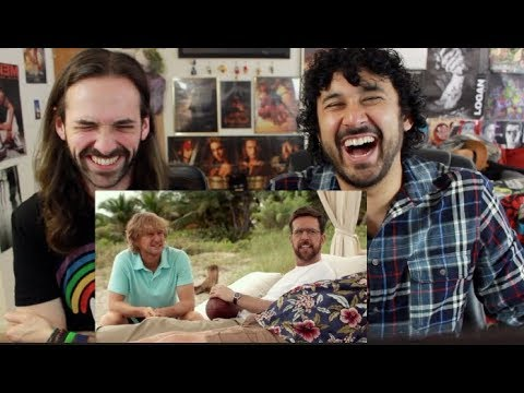 FATHER FIGURES   RED BAND  REACTION & !!!