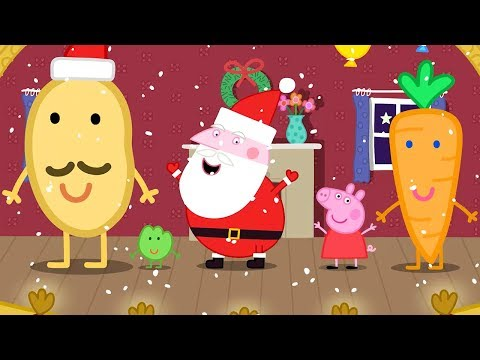Peppa Pig Episodes in 4K - Mr Potato's Christmas Show! - 12 DAYS OF PEPPA PIG CHRISTMAS 🎄