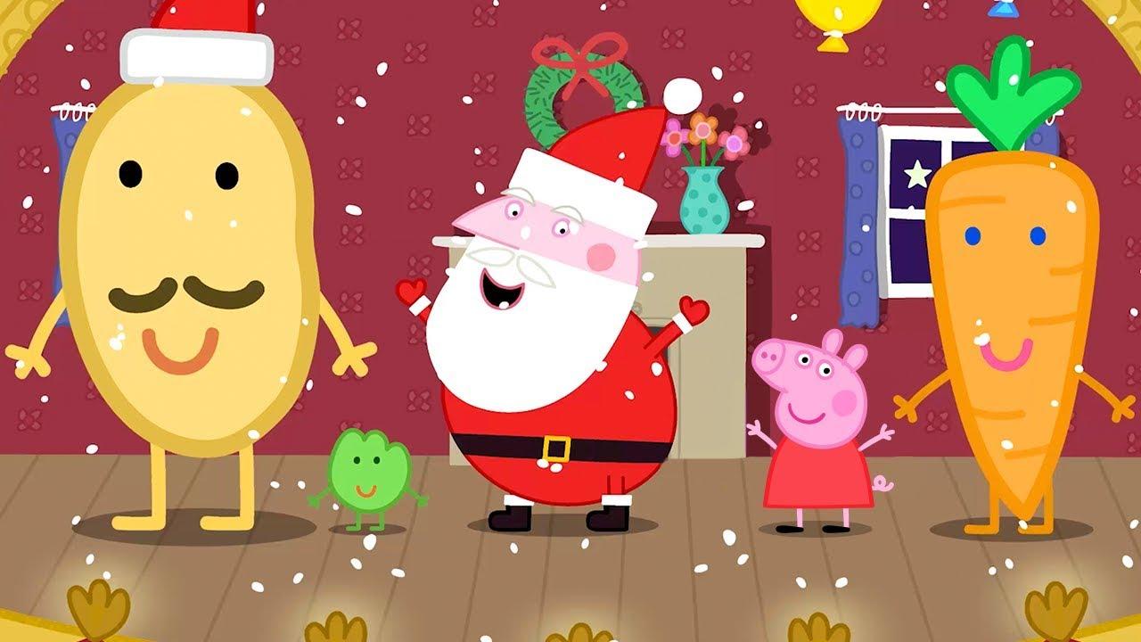 Peppa Pig Christmas.Christmas Peppa Pig Thecannonball Org