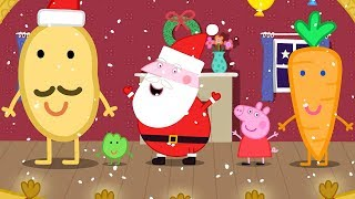 Peppa Pig English Episodes in 4K | Mr Potato's Christmas Show! | 12 DAYS OF PEPPA PIG CHRISTMAS