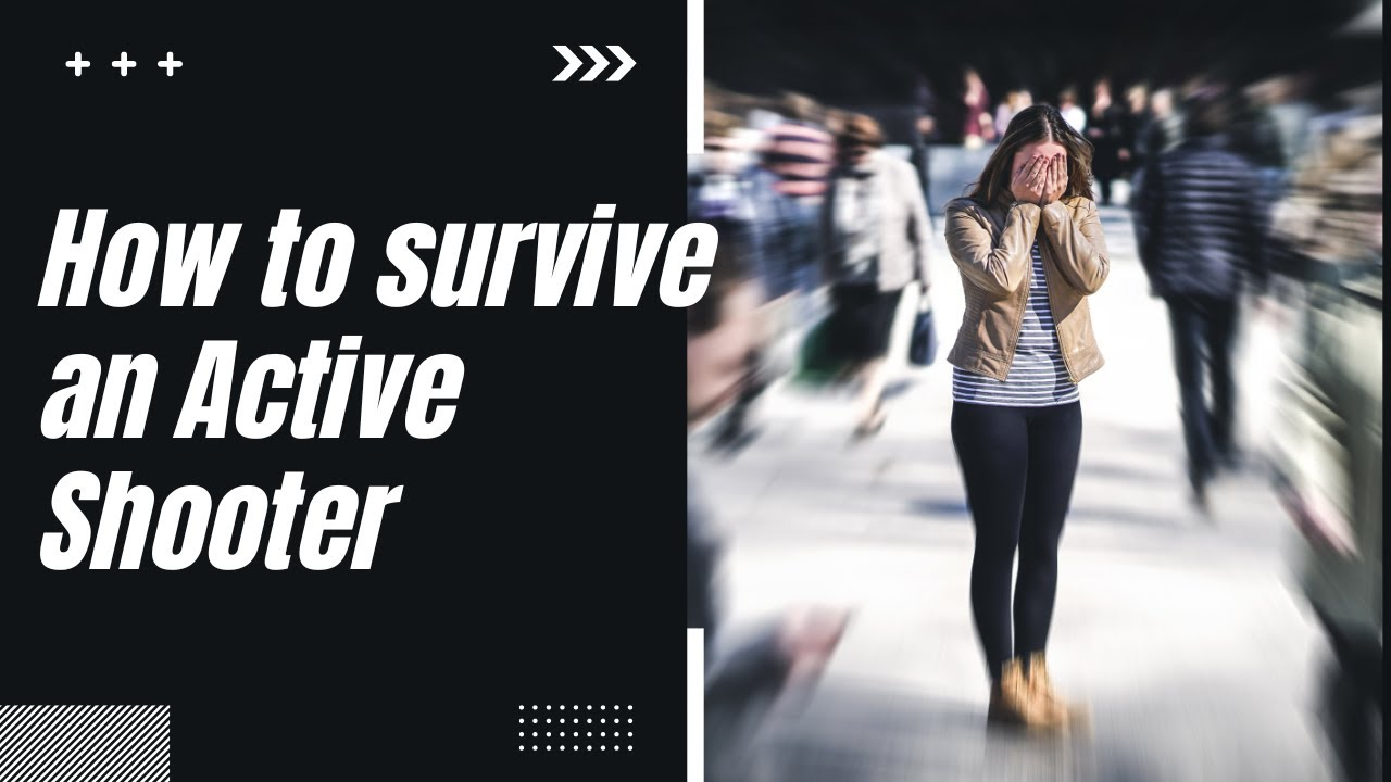 How to Survive an Active Shooter or Terrorist Attack - Animation