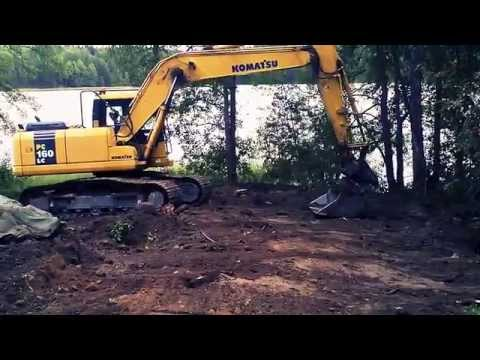 Building a log cabin in Finland: Excavating the foundations (Part 1)