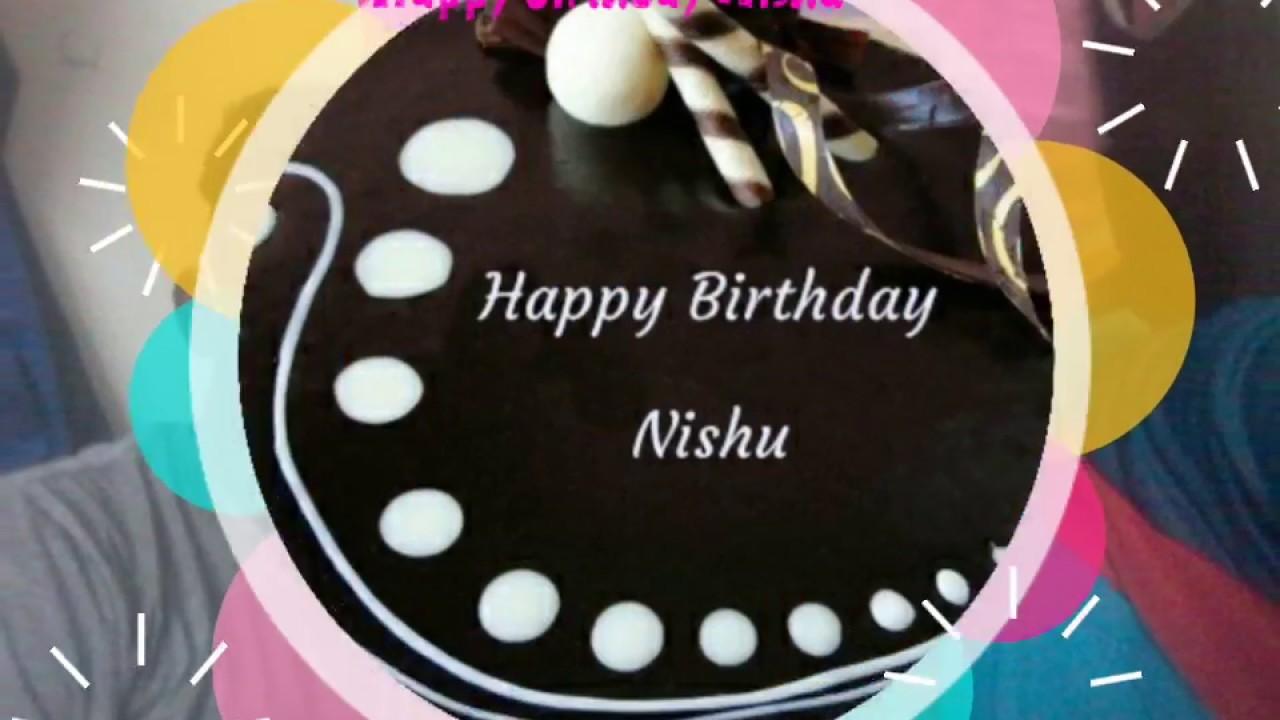 happy birthday nishu