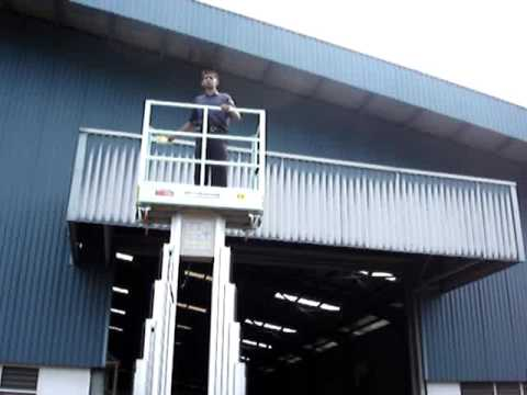 OIC Lift - Aerial Work Platform Double Mast - AWP Penang Malaysia - www.hpe.my