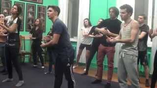 Актерское мастерство - урок по сценической речи - фрагмент