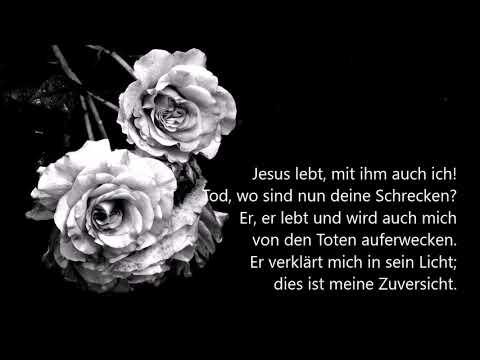 Lied jesus lebt mit ihm auch ich