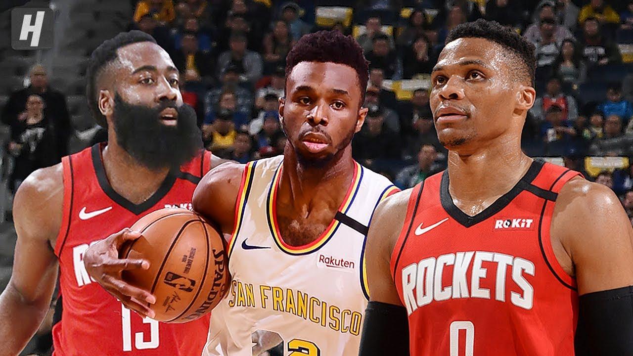Houston Rockets Vs Golden State Warriors Full Highlights