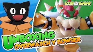 ¡Mega Bowser puede ser vuestro! - Unboxing+ Sorteo Figura Bowser y caja de Overwatch