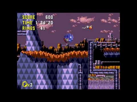Sonic CD (J) - PalmTree Panic 2 All time zones