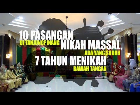 10 PASANGAN DI TANJUNGPINANG NIKAH MASSAL