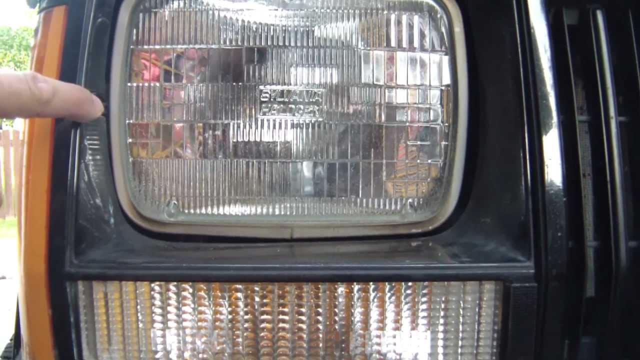 Truck Lite Led Headlight Wiring Diagram Daisy Airgun Parts Diy Auto 27450c3 Headlamp Installation Into 1990 Jeep Cherokee Xj Youtube