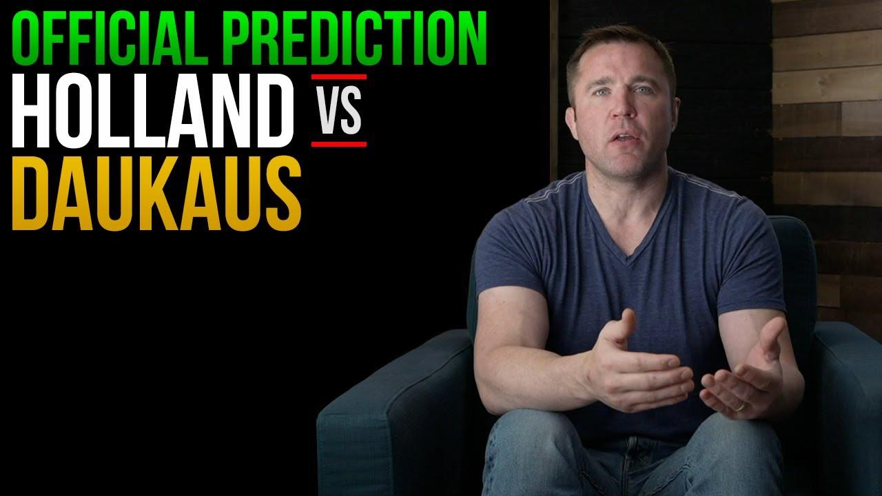 UFC Fight Night 193 Prediction: Kevin Holland vs. Kyle Daukaus ...
