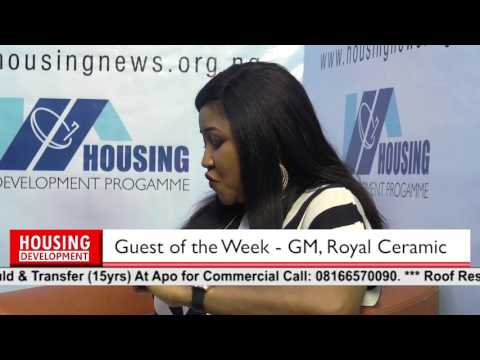 Guest of the week on Housing Development Programme - GM, Royal Ceramics